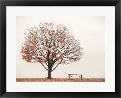 Framed Barely There Print