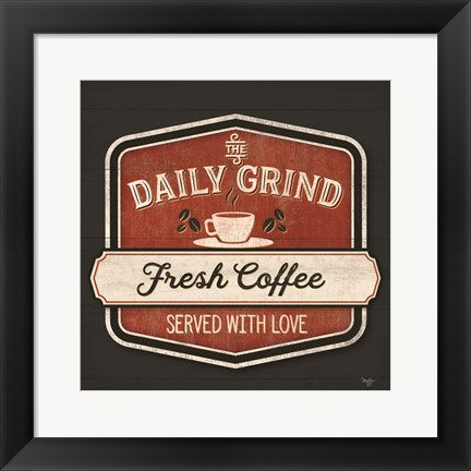 Framed Daily Grind Print