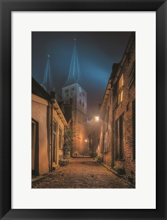 Framed Church 2 Print