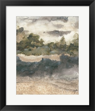 Framed Calming 1 Print