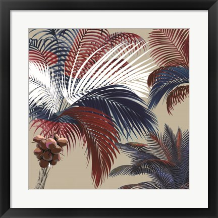 Framed American Palm Print