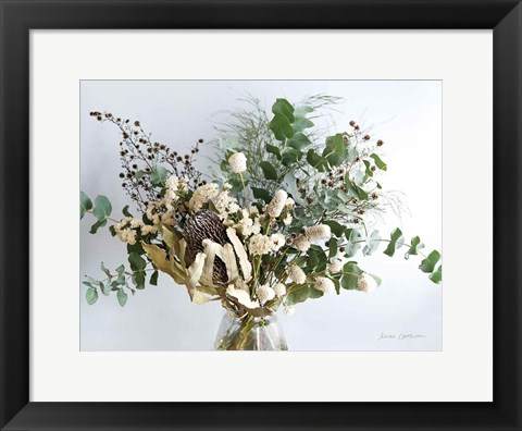 Framed Eucalyptus Arrangement Print