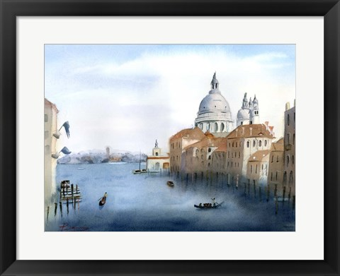 Framed Travel Scape III Print