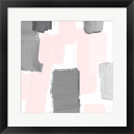 Framed Soft Mergence I Print