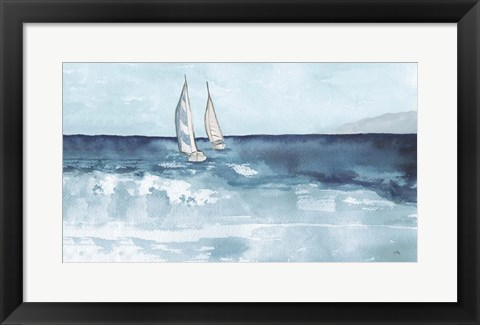 Framed Double Sails Print