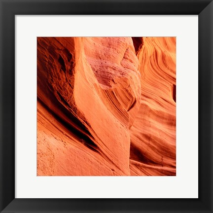 Framed Petrified Sand Mountain I Print