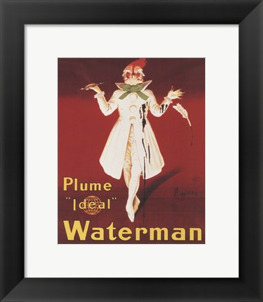 Framed Waterman Print