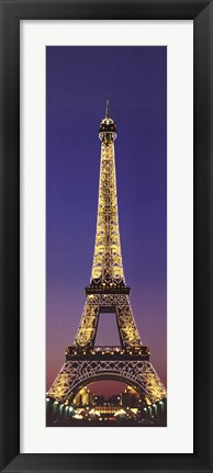 Framed Paris Eiffel Tower Print