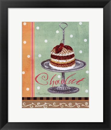 Framed Mint Chocolate Print