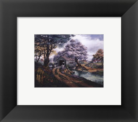 Framed Country Reflections Print