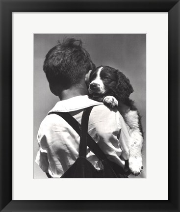 Framed Puppy Love Print