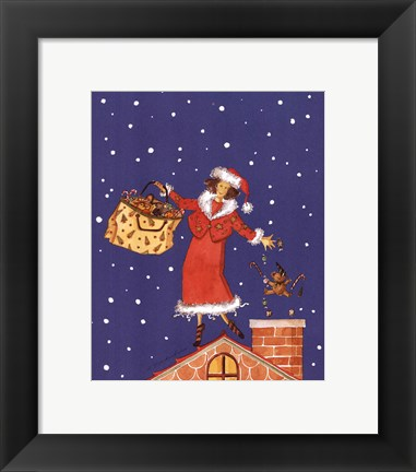 Framed Mrs.Claus Print