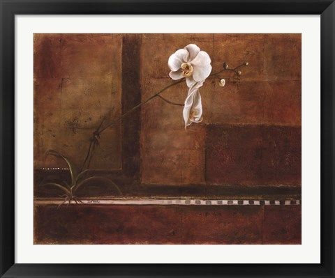 Framed Touch of Beauty II Print
