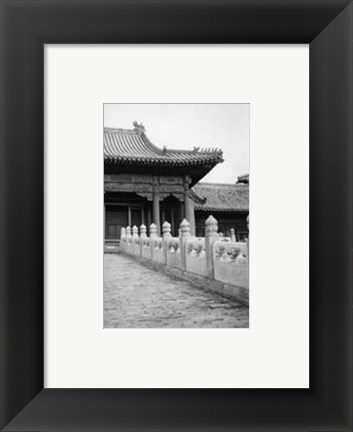 Framed Forbidden City Walk, Beijing Print
