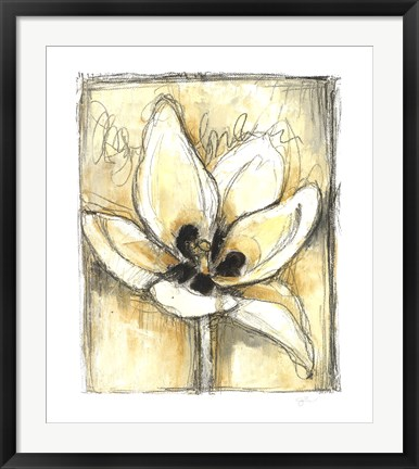 Framed Kinetic Blooms III Print