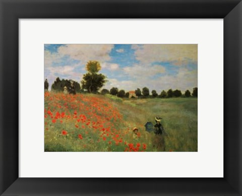 Framed Wild Poppies Print
