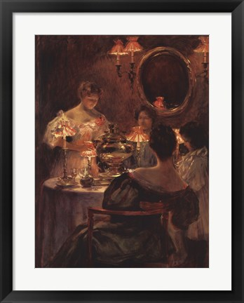 Framed Russian Tea Print