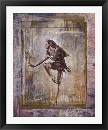 Framed Jazz Lady Print