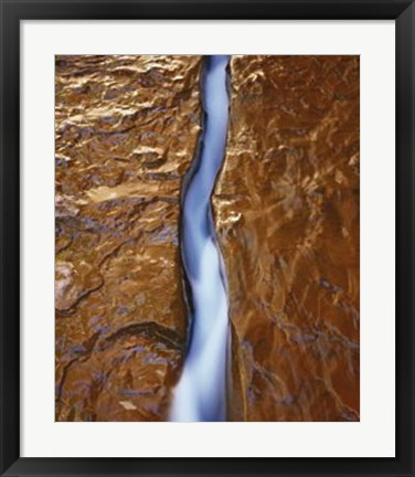 Framed Water Ribbon Print