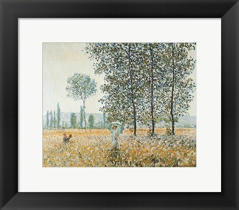 Framed Fields in Spring Print