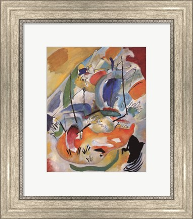 Framed Improvisation 31 (Sea Battle) 1913 Print