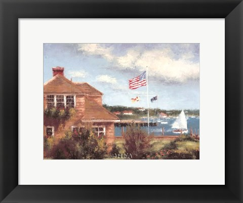 Framed Edgartown Print