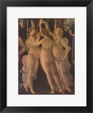 Framed Three Graces Print