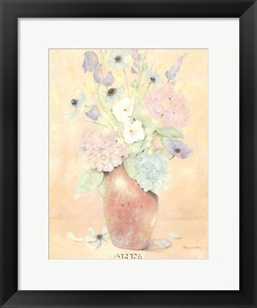 Framed Summer Wildflowers II Print