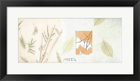 Framed Autumn Bamboo Print