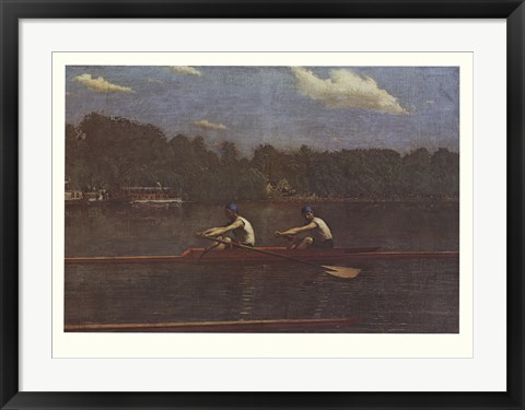 Framed Biglin Brothers Racing Print