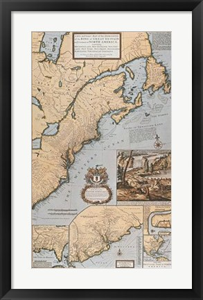 Framed Dominions/North America Print
