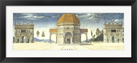 Framed Architectural Detail Print