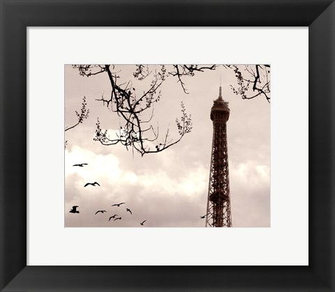 Framed Tour Eiffel Print