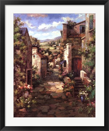 Framed Assisi Print