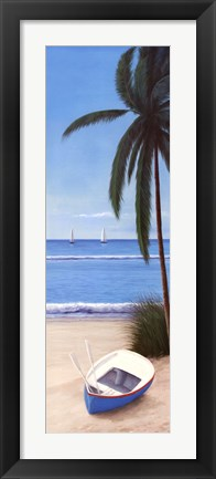 Framed Escape To Paradise II Print