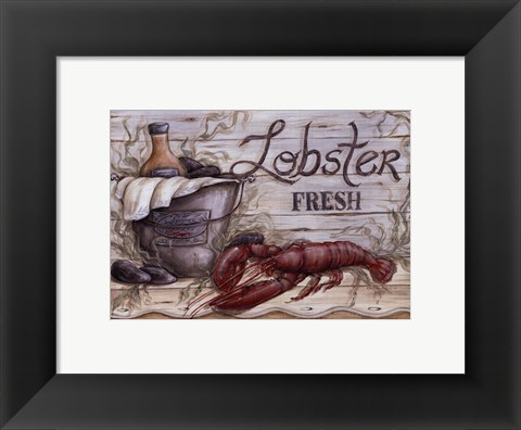 Framed Fisherman's Catch I Print