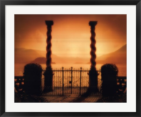 Framed Two Columns Print