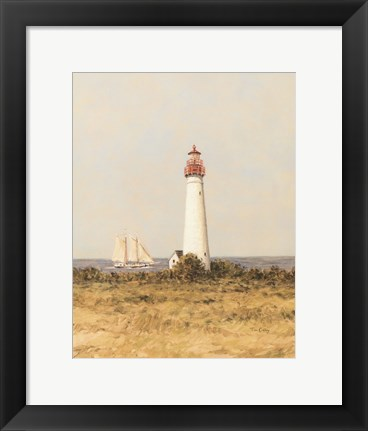 Framed View from the Lighthouse I Print