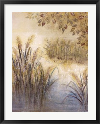 Framed Sparkling Waters Print