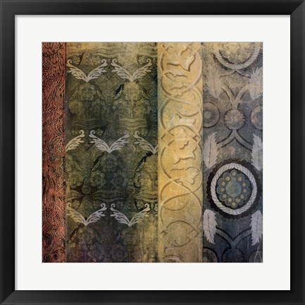 Framed Patterns of the Ages IV Print