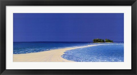 Framed Island in the Sun III Print