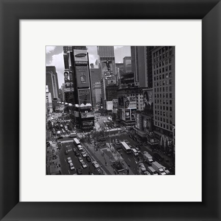 Framed Times Square Afternoon Print