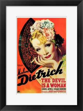 Framed Devil is a Woman Print