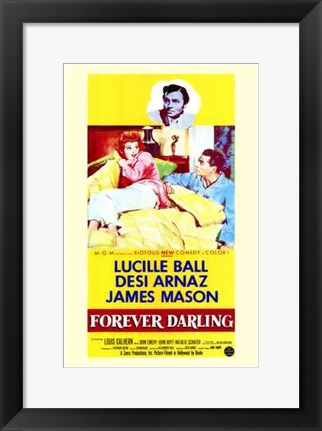 Framed Forever Darling Print