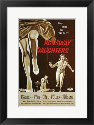 Framed Runaway Daughters Print