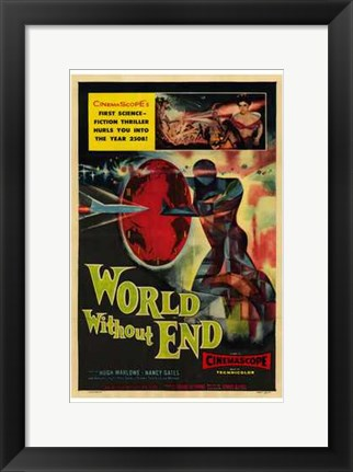 Framed World Without End Print