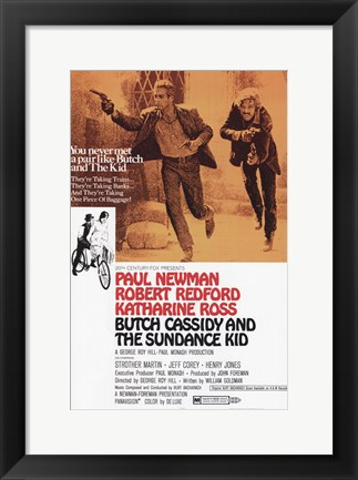 Framed Butch Cassidy and the Sundance Kid Print
