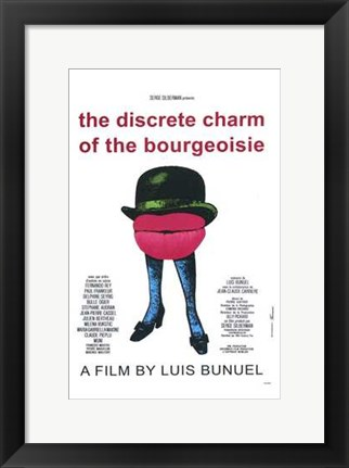 Framed Discreet Charm of the Bourgeoisie Print