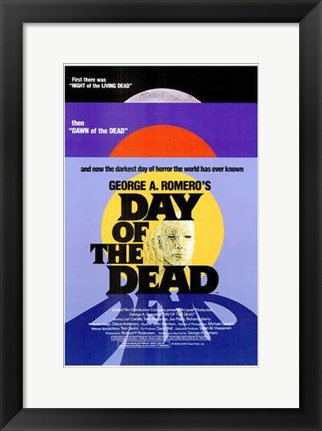 Framed Day of the Dead Print