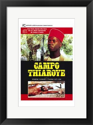 Framed Camp At Thiaroye Print